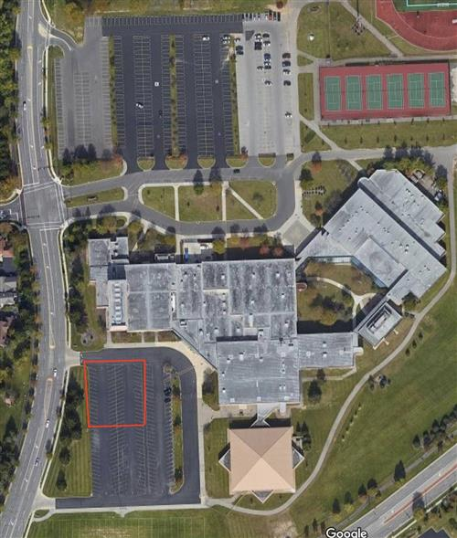 Arial Image of Coffman High School