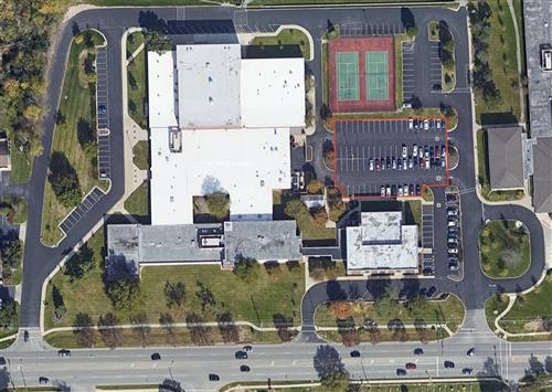 Arial image of Sells Middle School