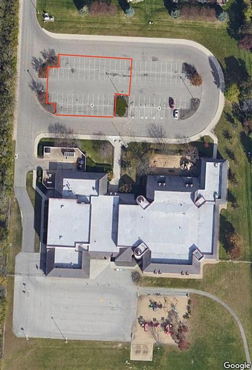 Arial image of Wright Elementary